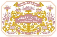 Clouet, Andre. Brut Rose NV 1.5L