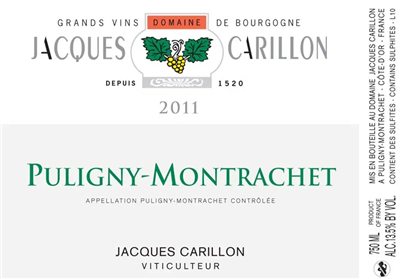 Carillon, Jacques. Puligny Montrachet 2016 750ml