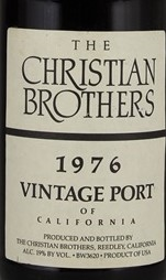Christian Brothers. Vintage Port 1976 750ml
