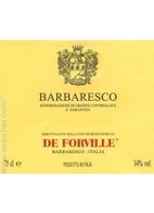 De Forville. Barbaresco 2015 750ml