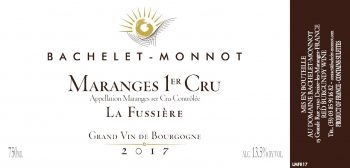 Bachelet-Monnot. Maranges Rouge 1er Cru 'La Fussiere' 2018 750ml