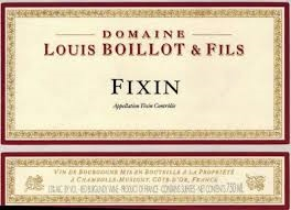 Boillot, Louis. Fixin 2016 750ml