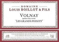 Boillot, Louis. Volnay 'Les Grands Poisots' 2016 750ml