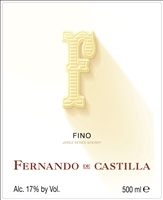 Fernando de Castilla. Antique Fino NV 500ml