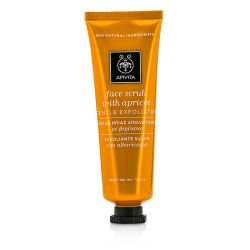 Apivita Face Scrub with Apricot - Gentle Exfoliating 50ml/1.83oz