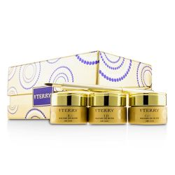 By Terry 24K Gold Baume De Rose Trio Deluxe Lip Balm Jewels (1x White Gold 10g, 1x Gold 10g, 1x Rose Gold 10g) 3x10g/0.35oz