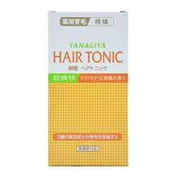 Yanagiya Hair Tonic (Citrus) 240mL From Japan