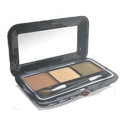 Borghese Satin Shadow Milano Trio Splend'Oro Green # 04 Splend'Oro Green 0.14 oz