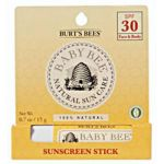 Burt's Bees Baby Bee Sunscreen Stick SPF 30 0.7 oz / 15 g