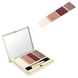 Clarins 4-Colour Eyeshadow Palette 02 Rosewood at CosmeticAmerica