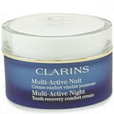 Clarins Multi Active Night Youth Recovery Comfort Cream for Normal to Dry Skin 1.7 oz / 50 ml