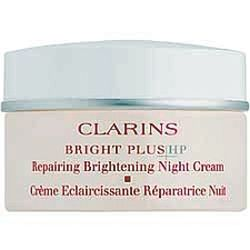 Clarins Bright Plus HP Brightening Repairing Night Cream 1.7 oz / 50 ml