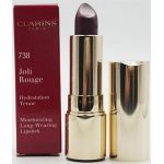 Clarins Joli Rouge Long-Wearing Moisturizing Lipstick 738 Royal Plum