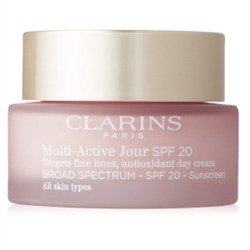 Clarins Multi-Active Jour SPF 20 Day Cream 1.7 oz / 50 ml for all skin types