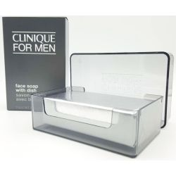 Clinique Skin Supplies for men Face soap Regular Strengh With Dish