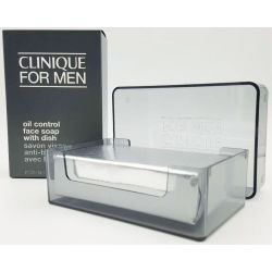 Clinique Skin Supplies for men Face soap Extra Strength With Dish