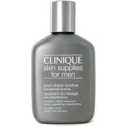 Clinique for Men Post Shave Soother Anti Blemish Formula 2.5 oz / 75 ml