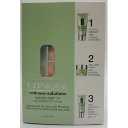 Clinique Redness Solutions Redness Regimen Set 3pc
