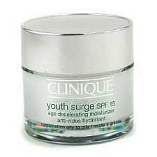 Clinique Youth Surge SPF 15 Age Decelerating Moisturzer for Combination Oily to Oily Skin 1.7 oz / 50 ml