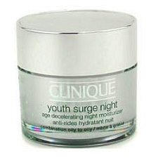Clinique Youth Surge Night for Combination Oily to Oily Skin 1.7 oz / 50 ml Combination Oily to Oily Skin