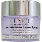 Clinique Repairwear Laser Focus Line Smoothing Cream SPF 15 Combination Oily, Oily at CosmeticAmerica