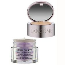 Lancome Renergie Eye Multiple Action Ultimate Eye Care Duo Step 1: Cream 0.5oz & Step 2: Veil SPF 15 0.14oz