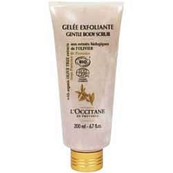 L'Occitane Olive Tree Organic Gentle Body Scrub 6.7 oz / 200 ml