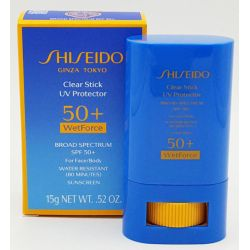 Shiseido Clear Stick UV Protector SPF 50+ WetForce 15 g / 0.52 oz