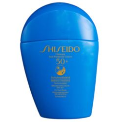 Shiseido Ultimate Sun Protector Lotion SPF 50+ Wet Force x Heat Force 1.6oz