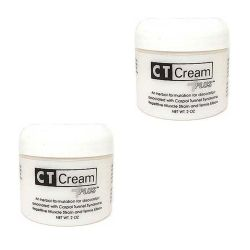 CT Cream Carpal Tunnel Cream for Pain Relief - Value 2pc pack - Carpal Tunnel Syndrome, Arthritis, Tendonitis, Bursitis 2 oz x 2pcs Value Twin Pack