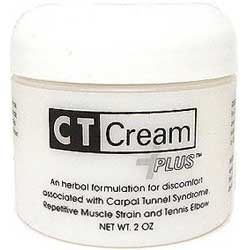 CT Cream PLUS Carpal Tunnel Cream for Pain Relief - Carpal Tunnel Syndrome , Arthritis, Tendonitis, Bursitis 2 oz