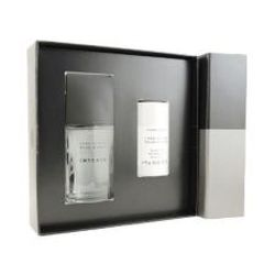 Issey Miyake L'eau D'issey Pour Homme Intense by Issey Miyake for Men 2 Piece Set 2.5 oz Eau De Toilette EDT Spray + 2.6 oz Alcohol Free Deodorant Stick 2 piece gift set 2.5 oz Eau De Toilette EDT Spray + 2.6 oz Alcohol Free Deodorant Stick