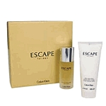 Escape by Calvin Klein for men 2 Pc Set 3.4 oz EDT Spray & After Shave Balm 2 Piece Gift Set 3.4 oz EDT Spray + 6.7 oz After Shave Balm