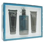 Cool Water by Davidoff for men 3 Pc 4.2 oz Spray Set 3 Piece Gift Set 4.2oz EDT Spray + 2.5 oz Shower Gel & After Shave Balm