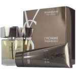 L'Homme by Yves Saint Laurent for Men 2 pcs set 3.3 Eau De Toilette EDT + 3.3 oz All-Over Shower Gel 2 Pieces Gift Set 3.3 oz Eau De Toilette EDT + 3.3 oz All-Over Shower Gel