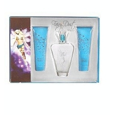 Fairy Dust by Paris Hilton for Women 3 Piece Set 3.4 oz Eau De Parfum EDP Spray + 3.0 oz Sparkling Body Lotion + 3.0 oz Bath & Shower Gel 3 piece gift set 3.4 oz Eau De Parfum EDP Spray + 3.0 oz Sparkling Body Lotion + 3.0 oz Bath & Shower Gel