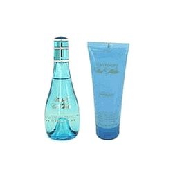 Cool Water by Davidoff for Women 2 Piece Set 3.4 oz Eau De Toilette EDT Spray + 2.5 oz Body Lotion 2 piece gift set: 3.4 oz Eau De Toilette EDT Spray + 2.5 oz Body Lotion