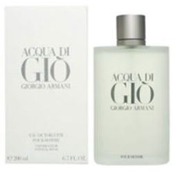 Acqua Di Gio by Giorgio Armani for men 6.7 oz Eau De Toilette EDT Spray