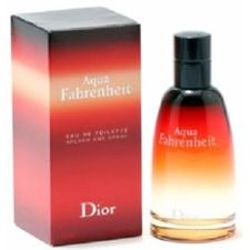 Aqua Fahrenheit by Christian Dior for men 2.5 oz Eau De Toilette EDT Spray