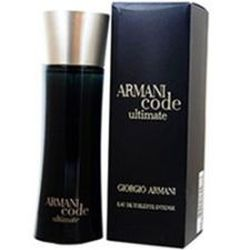 Armani Code Ultimate by Giorgio Armani for men 2.5 oz Eau De Toilette EDT Spray