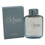 CK Free by Calvin Klein for men 3.4 oz Eau De Toilette EDT Spray