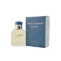 Light Blue by Dolce & Gabbana for men 2.5 oz Eau De Toilette EDT Spray