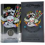 Ed Hardy Born Wild for men 3.4 oz Eau De Toilette EDT Spray