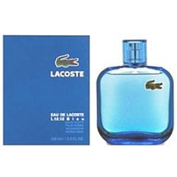 Eau de Lacoste L12.12 Bleu by Lacoste for men 3.3 oz Eau De Toilette EDT Spray