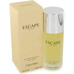 Escape by Calvin Klein for men 3.4 oz After Shave Balm ( Bottle )