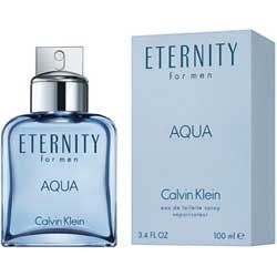 Eternity Aqua by Calvin Klein for Men 3.4 oz Eau De Toilette EDT Spray
