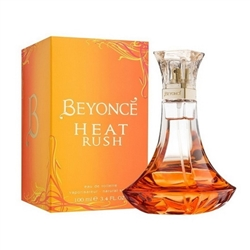 Beyonce Heat Rush by Beyonce for women 3.4 oz Eau de Toilette EDT Spray