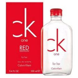 CK One Red Edition for women 3.4 oz Eau De Toilette EDT Spray