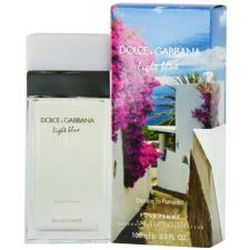 Dolce & Gabbana Light Blue Escape to Panarea for women 3.3 oz Eau De Toilette EDT Spray