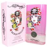 Ed Hardy Born Wild for women 3.4 oz Eau De Parfum EDP Spray